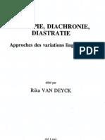 267. Linguistique Historique Et Histoire Des Langues