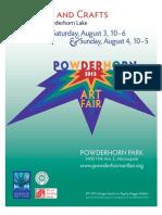 Powderhorn Art Fair 2013 Program