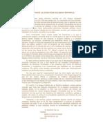 DE CÓMO NACIÓ LA LITERATURA EN LENGUA ESPAÑOLA