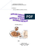 Auxiliar Curricular Materii Prime Si Materiale Cl IX