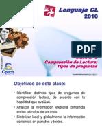 Clase 03 Lenguaje Cpech - Comprension Lectura (OliverClases)