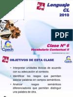 Clase 06 Lenguaje Cpech - Vocabulario Contextual (OliverClases)
