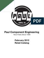 Paul Catalog February 2012
