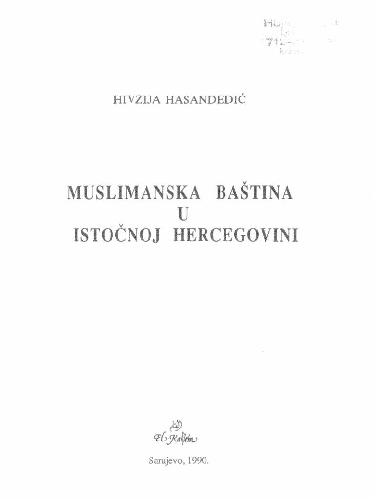 Muslimanska Baština u Istočnoj Hercegovini