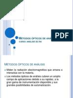 Analisis por método optico I