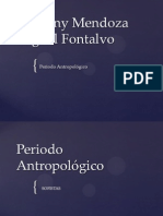 periodo antropologico