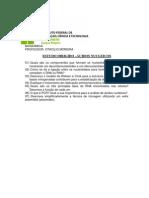 Estudo dirigido ácidos nucleicos