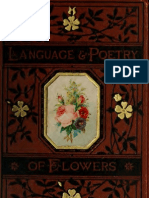 The Language and Poetry of Flowers, with colored illustrations printed in colors and gold.