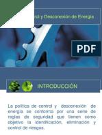 Control y Desconxion de Energia