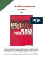 Edward Winter - Kasparov and His Predecessors