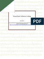 Visual Basic Software Coding