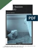 Simenon, Georges - El Gato
