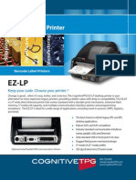 CognitiveTPD EZ-LP Desktop Label Printer