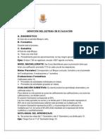 Instructivo Para Evaluacion Del Sistema Quimestral