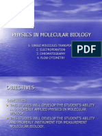 Physics in Molecular Biology-2010