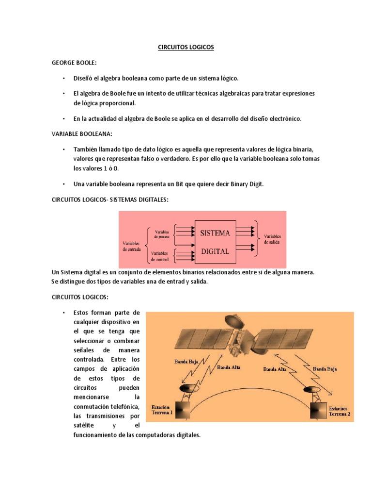 Circuito Xor Equivalente : Circuitos logicos manual