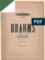 13 Canons for Female Choir Op. 113 (Brahms) - IMSLP23157-PMLP52910