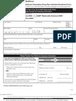 2013 AARP PDP Application