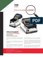CognitiveTPG Advantage LX Desktop Series Printer