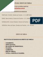 Direito de Fam+¡lia - Aulas 1-¬ e 2-¬