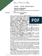 ACORDÃO STJ - INVESTIGAÇÃO PELO MP