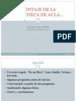 5. MONTAJE DE LA BIBLIOTECA DE AULA_ Claudia Quintero.pdf