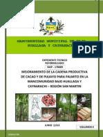 Et Cacao Palmito Mancomunidad Refor Junio 2013