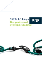 Sap Bi Bo Integration - Best Practices and Overcoming Challenges
