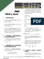 A 2.1  Ns primos MCD mcm