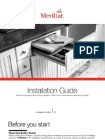 Installation Guide kitchen cabinets