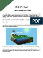 ENERGÍA SOLEnergía Solar