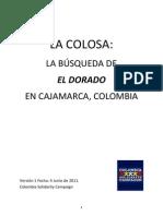 LA COLOSA La Busqueda de El Dorado en Cajamarca v1