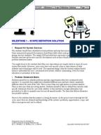 Ctts case study output designs