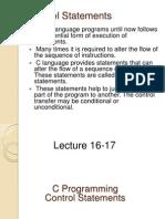 11.Lect 16-17control Statdfv