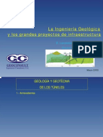 Ingeniería Geológica-Tunel Leon-Asturias