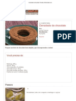 Densidade de Chocolate _ Receitas _ Bemsimples