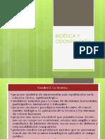 Bioetica y Odontologia