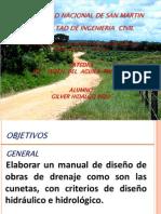 DISEÑO DE CUNETAS