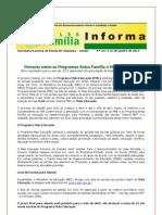Informe PBF nº 351- Bolsa Familia e mais educação