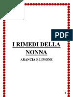 i Rimedi Della Nonna (Arancia e Limone)