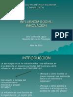 Influencia Social Innovacion