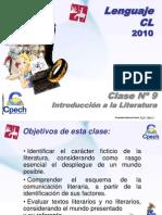 Clase 09 Lenguaje Cpech - Literatura (OliverClases)