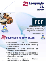 Clase 10 Lenguaje Cpech - Temas & Topicos Literarios (OliverClases)