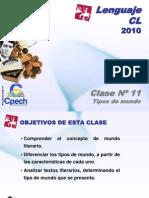Clase 11 Lenguaje Cpech - Tipos de Mundos (OliverClases)