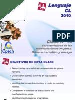 Clase 14 Lenguaje Cpech - Genero Narrativo (OliverClases)