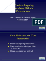 Guide Powerpoint
