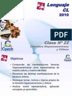 Clase 22 Lenguaje Cpech - L Hispanoamericana & Chilena (OliverClases)