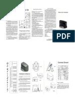 Portão eletrônica manual_KDZ