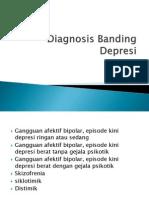 Diagnosis Banding Depresi