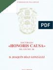Doctorado Honoris Causa Joaquín Díaz (2006)